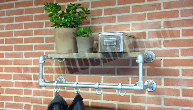 Kapstok Van Steigerbuis.30 Nieuwe Industriele Steigerbuis Kapstokken Steigerbuiskapstok Nl